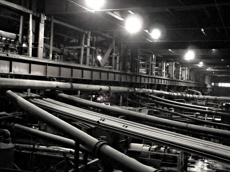 Silvinit's processing plant. Соликамск, обгогатительный комбинат. Жутковато там.