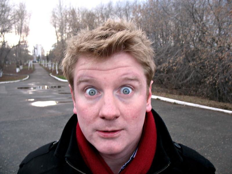 RT correspondent Peter Oliver. <br /> Питер, как он есть.