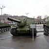 Мотовилиха. САУ в музее завода. Tanks built at Perm's Motovilikha Factory.