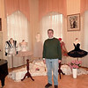 Surrounded by tutus in the Diaghilev Museum. (Perm, Russia)