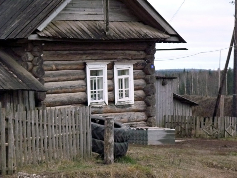 Parmailovo village house.