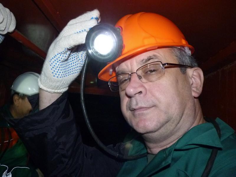 Miner man Safronov.