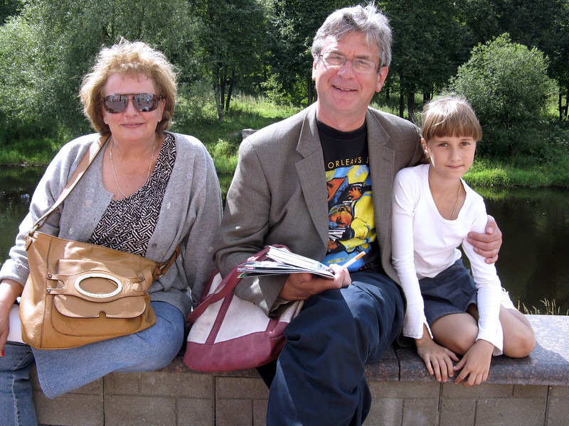 Susan, Rustem, Masha.
