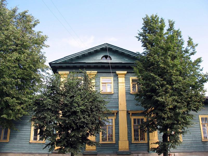 Old Pskov home.