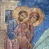 Transfiguation Church of the Mirozh Monastery ~ 12th century fresco.