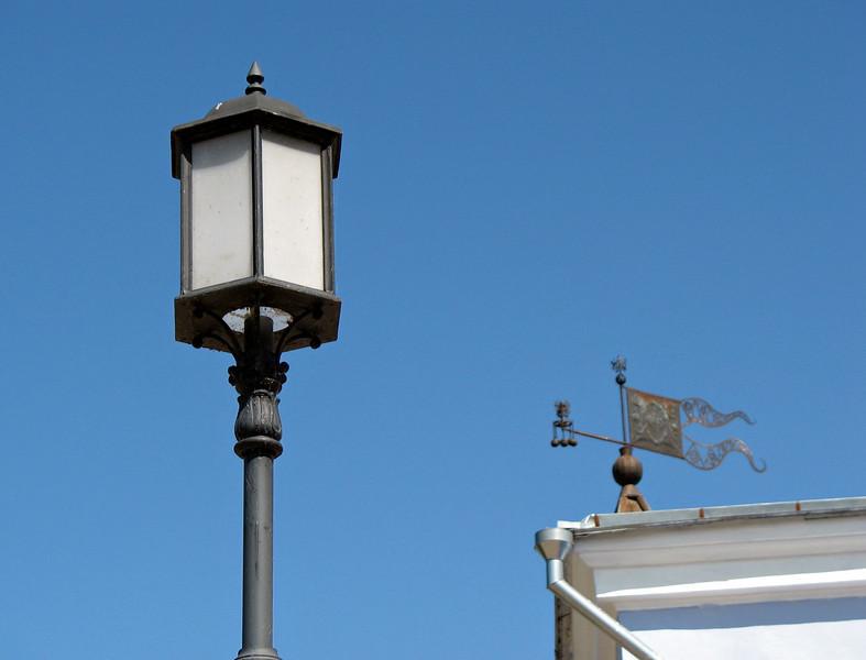 Pskov streetlight.