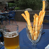 Beer & cheese sticks.