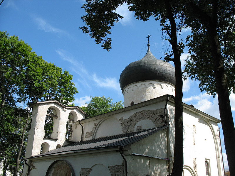 Transfiguration Cathedral of the Mirozh Monastery ~ 12th century.