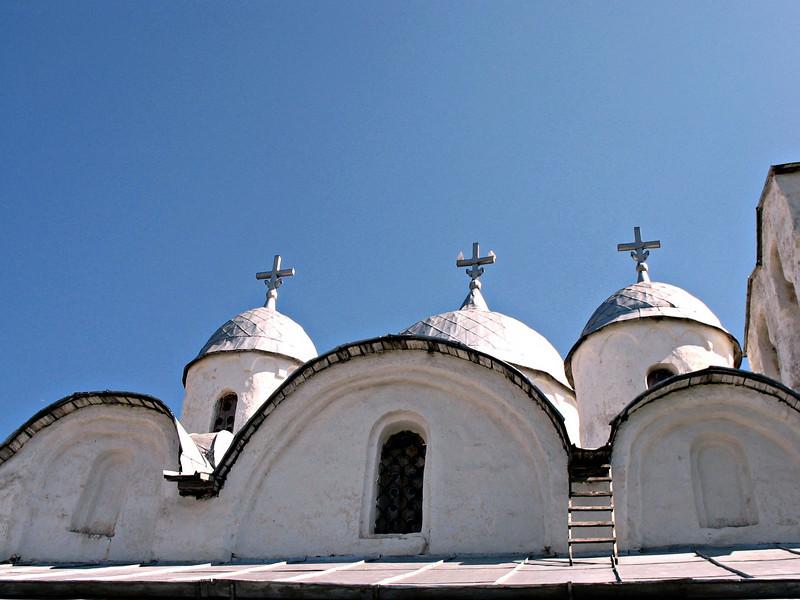 Church dome detail (10th century).