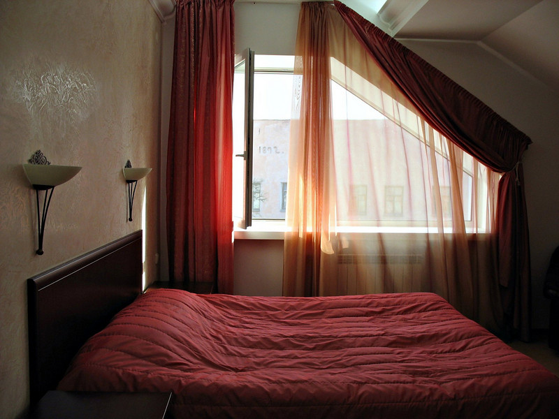 Our room at the Golden Embankment Hotel. (Pskov)