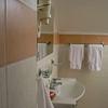 Bathroom of Pskov hotel, Golden Embankment.