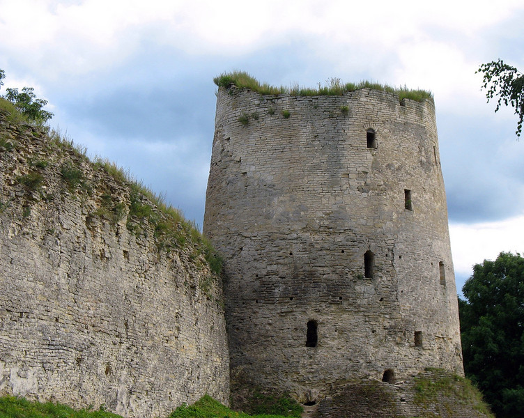 Izborsk Fortress tower.