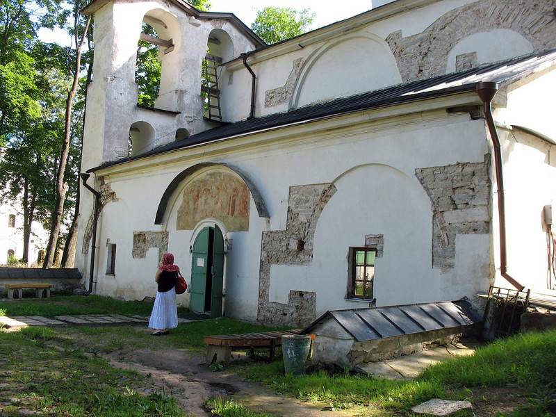 Transfiguration Cathedral of the Mirozh Monastery.