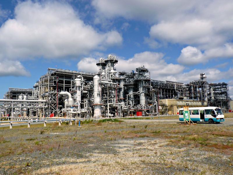 Sakhalin Energy's liquefied natural gas facility.
