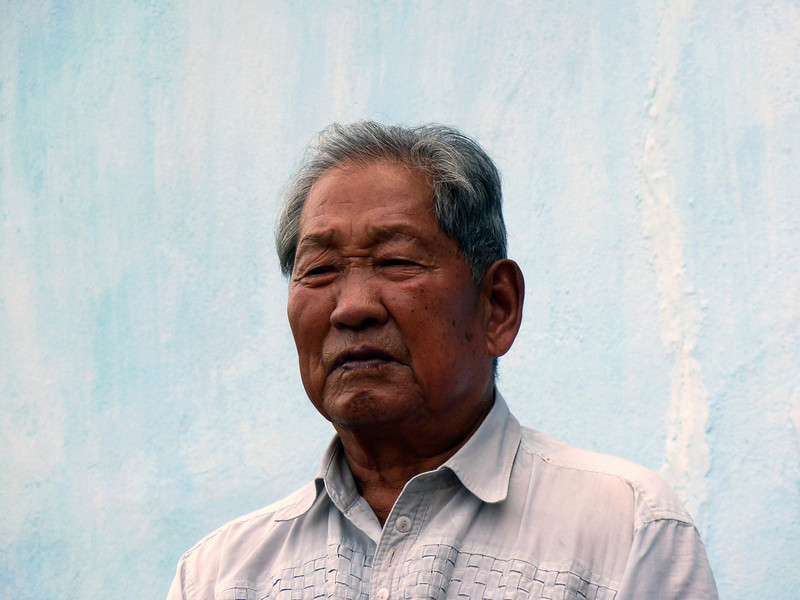 Forcefully deported from Korea by the Japanese to work in the Sakhalin coal mines & unable to be repatriated after the war, Mr. Kim spent his life in the coal mining town of Sinegorsk.