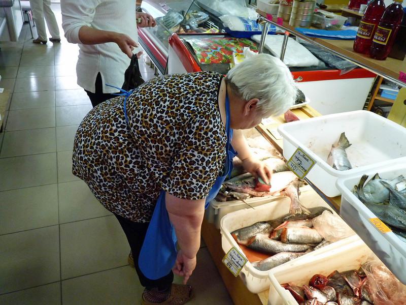 Yuzhno-Sakhalinsk market.