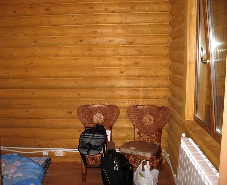 My room on Moneron Island.