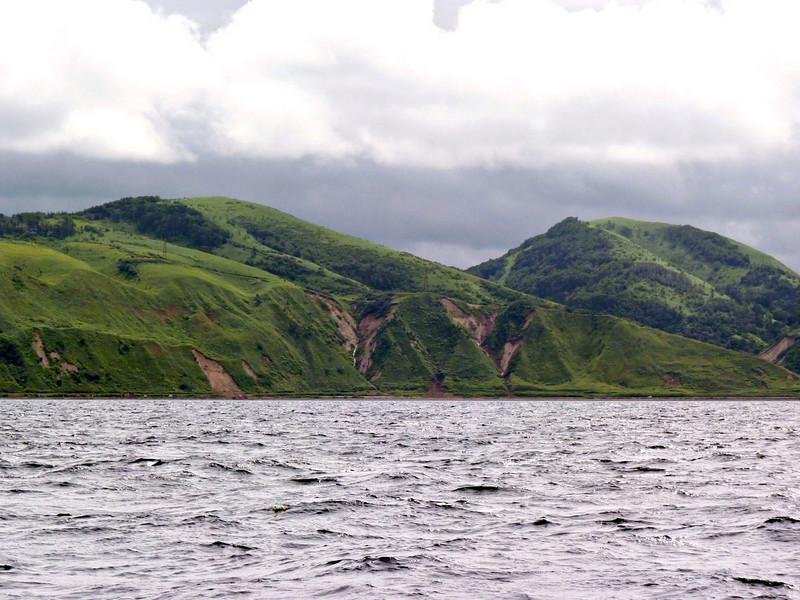 First sighting of Moneron Island.