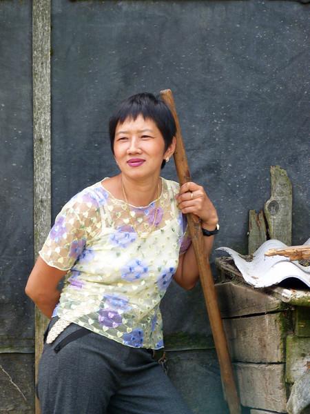 Born in Sakhalin, Irina Kim, was able to finally get Soviet citizenship in 1985.