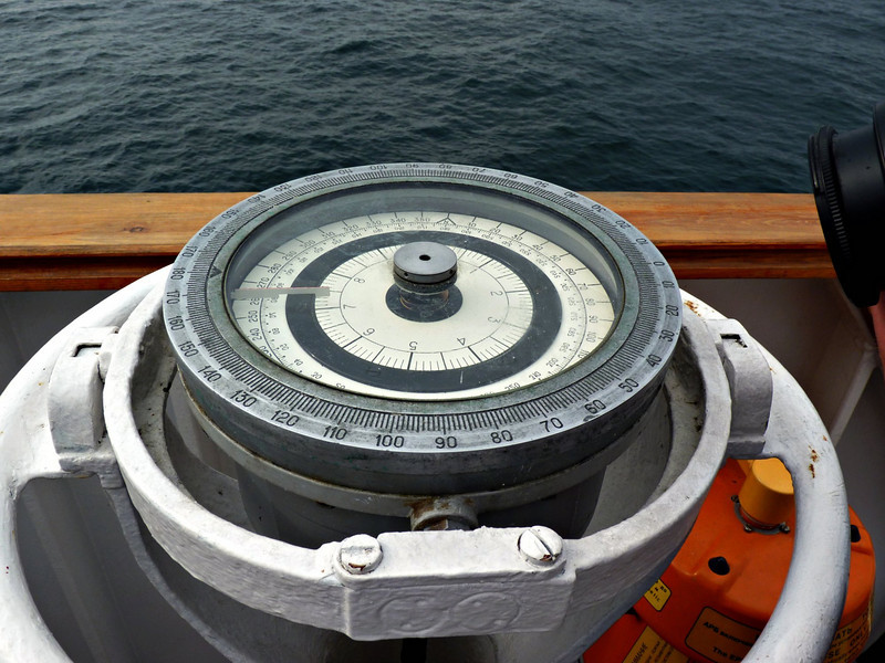 Border patrol navigation equipment.