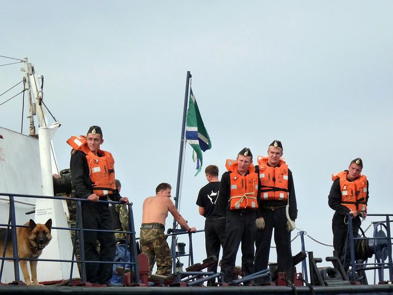 Sakhalin Border Patrol.