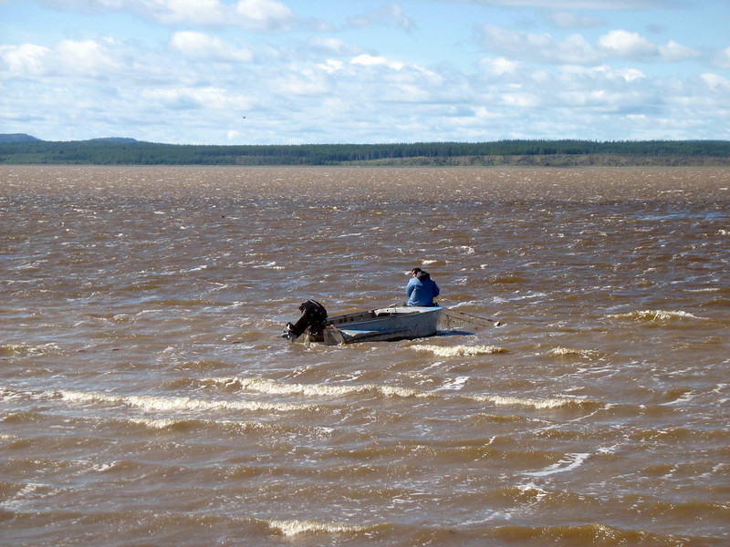 Most Nivkhs maintain a traditional lifestyle as fishermen.