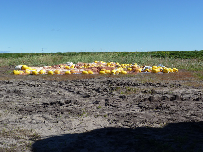 Nivkh fishing nets.