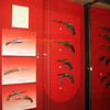 Arms museum display.
