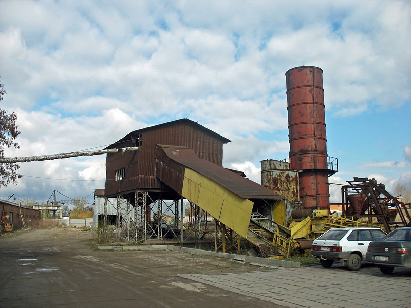 Remains of Soviet industry.