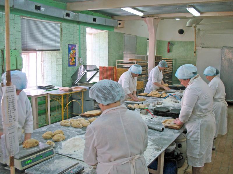Priyaniki are still made by hand.