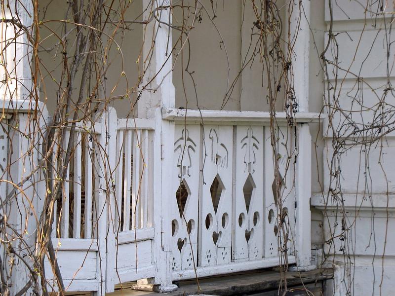 Tolstoy's veranda.