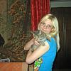 Lena & cat.