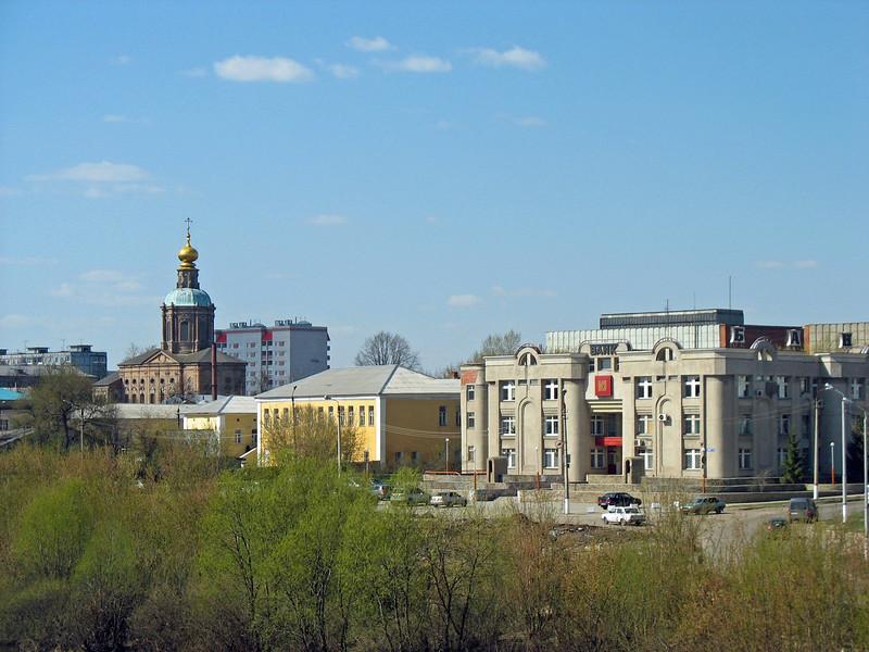 Tula buildings.