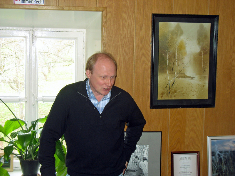 Tolstoy's great-great-grandson, Vladimir Ilyich Tolstoy, is the Director of the Yasnaya Polyana Estate Museum.