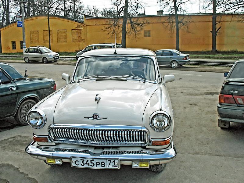 '60s era Volga in mint condition.