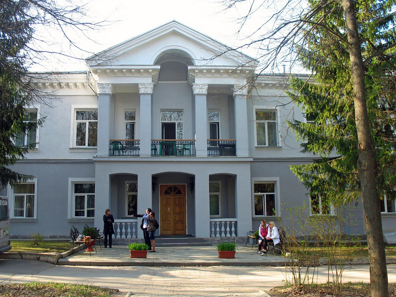 Our Yasnaya Polyana hotel located on grounds that once belonged to the Tolstoy estate. A lovely hotel.