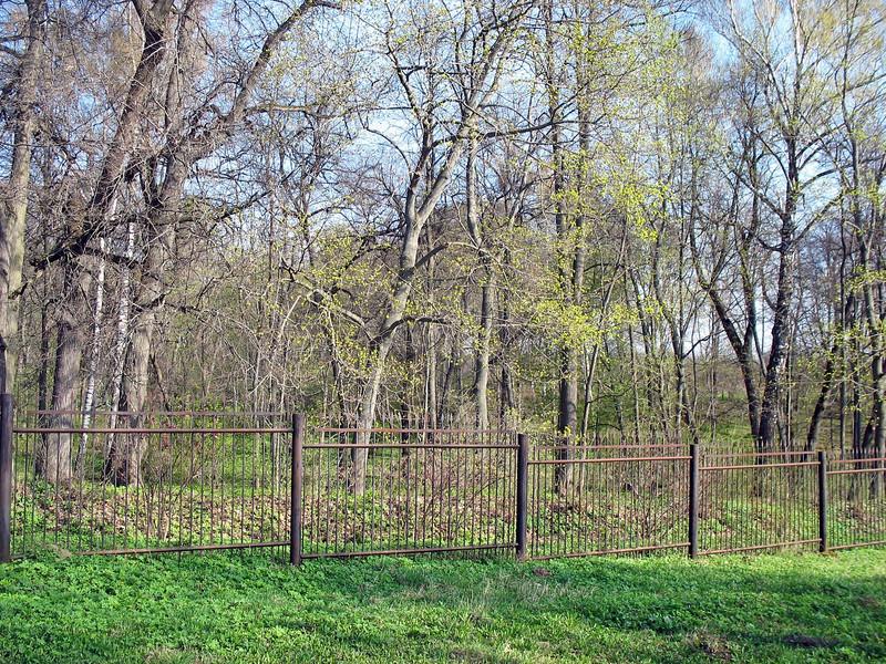 Yasnaya Polyana fence.