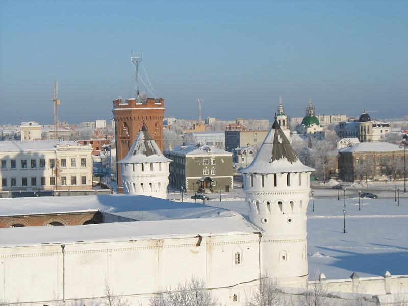 Tobolsk Kremlin tower.