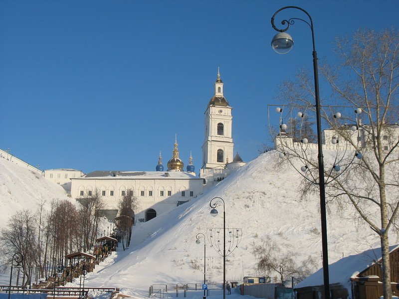 Tobolsk Kremlin on the Day of the Epiphany. (1.19.2010)