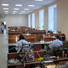 Commercial bone carving workshop in Tobolsk.