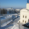 View from Tobolsk Kremlin bell tower.