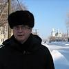On the street in Yalutorovsk. (Tyumen Region, Siberia)