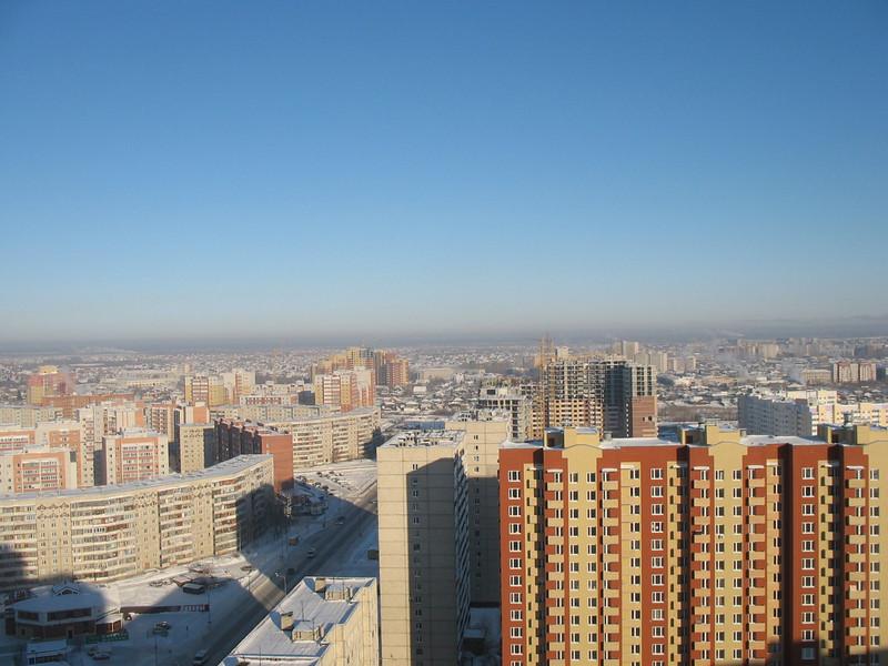 New housing developments in Tyumen.