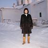 Yelena Sotnichenko, Tobolsk Administration.  <br /> Елена Сотниченко, главный специалист департамента культуры городской администрации Тобольска. У стен мужского монастыря Аабалак.
