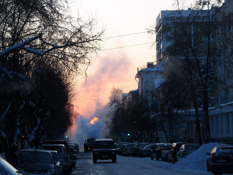 Siberian Sunrise. (Tyumen, Russia)