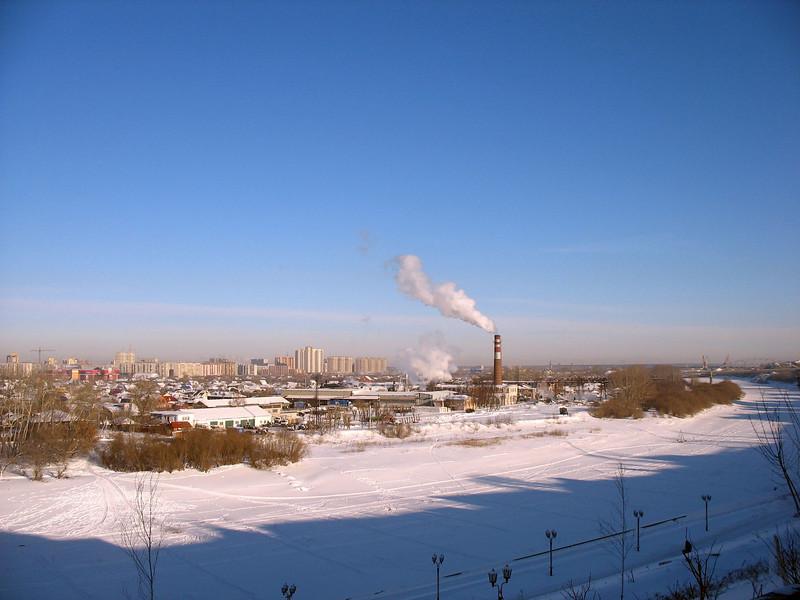 Irtysh River. (Tyumen, Russia)