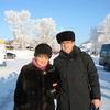 With Gulnur in Tobolsk.