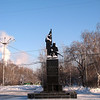 Monument to the matyrs of Russia's first attempted revolution in 1905.
