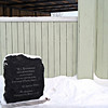 Marker commemorating Rasputin's birthplace outside of Tobolsk.