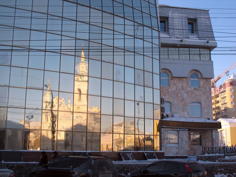 Reflection of Tymen's old & new.
